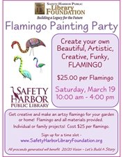 Flamingo Painting Party!