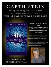 SKYPE with Best-selling Author Garth Stein
