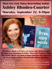 Ashley Rhodes-Courter @ the Safety Harbor Library