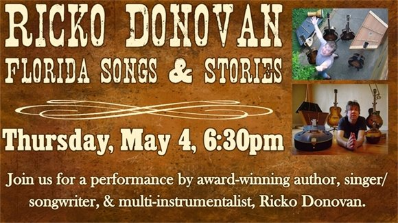 Ricko Donovan Florida Songs & Stories
