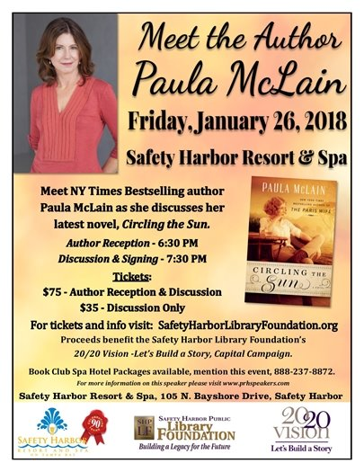 Meet NYT Bestselling Author Paula McLain