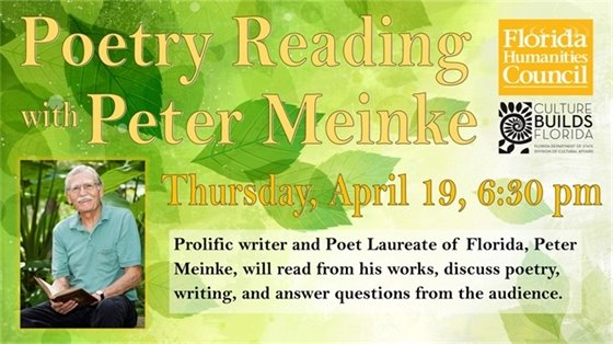 Poetry Reading with Peter Meinke