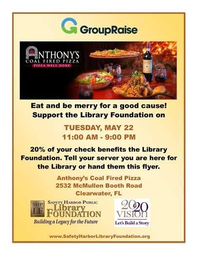 Fundraiser @ Anthony's Cole Fired Pizza