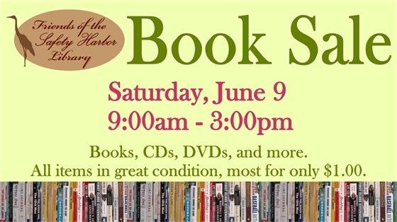 Book Sale! Saturday, June 9, 9:00 am-3pm