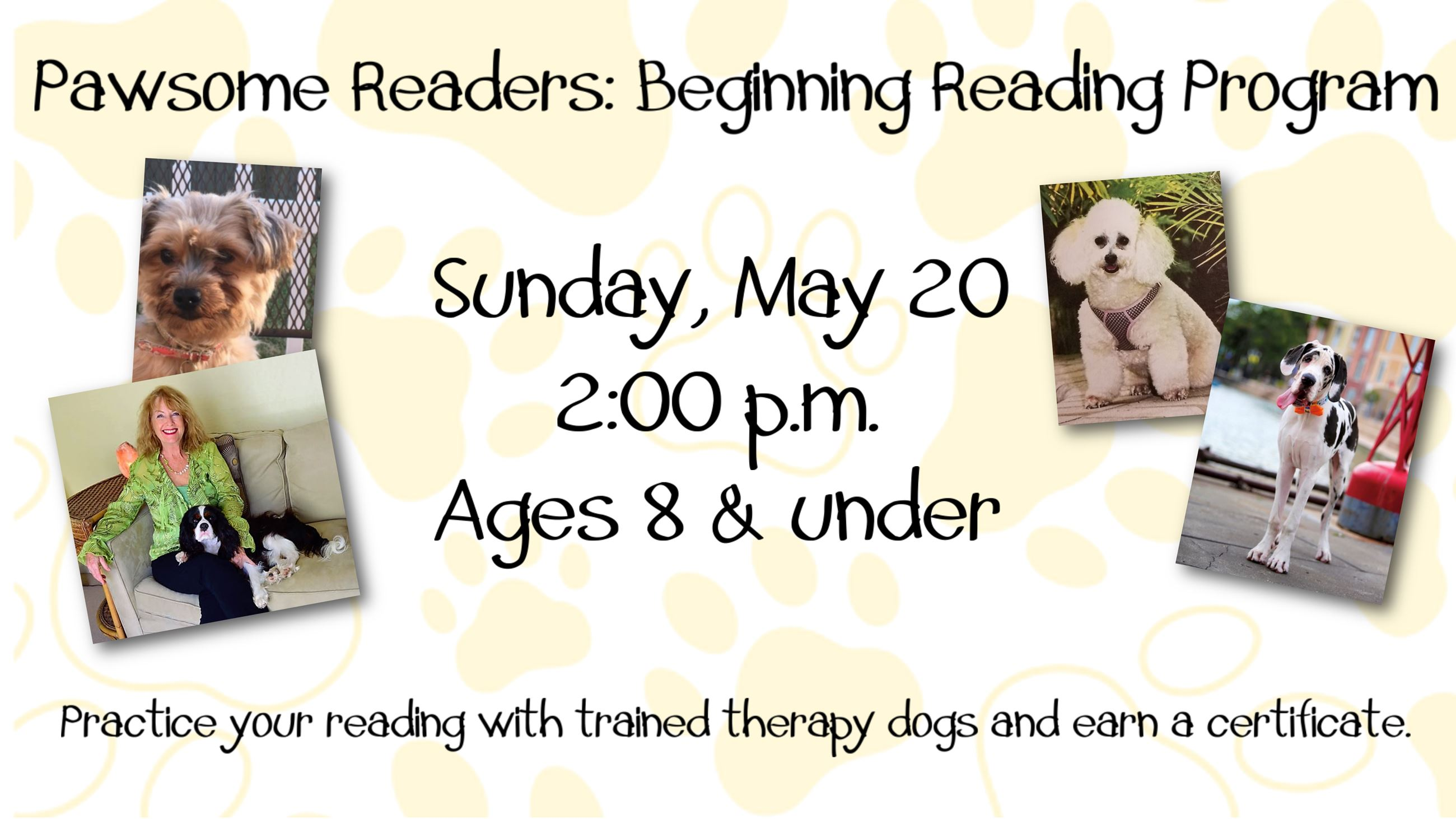 Pawsome Raeders Beginning Reading Program.pub