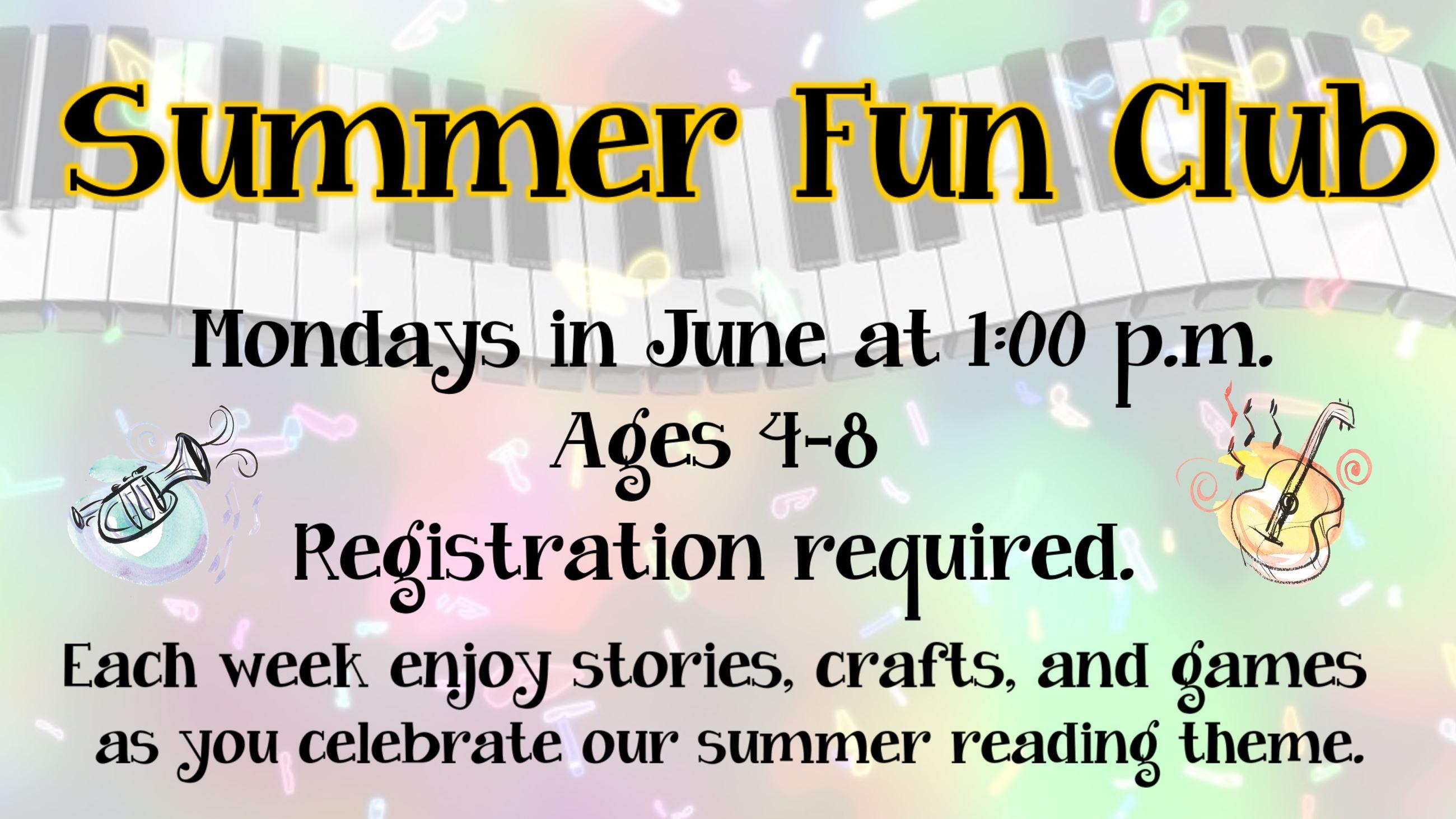 Summer Fun Club