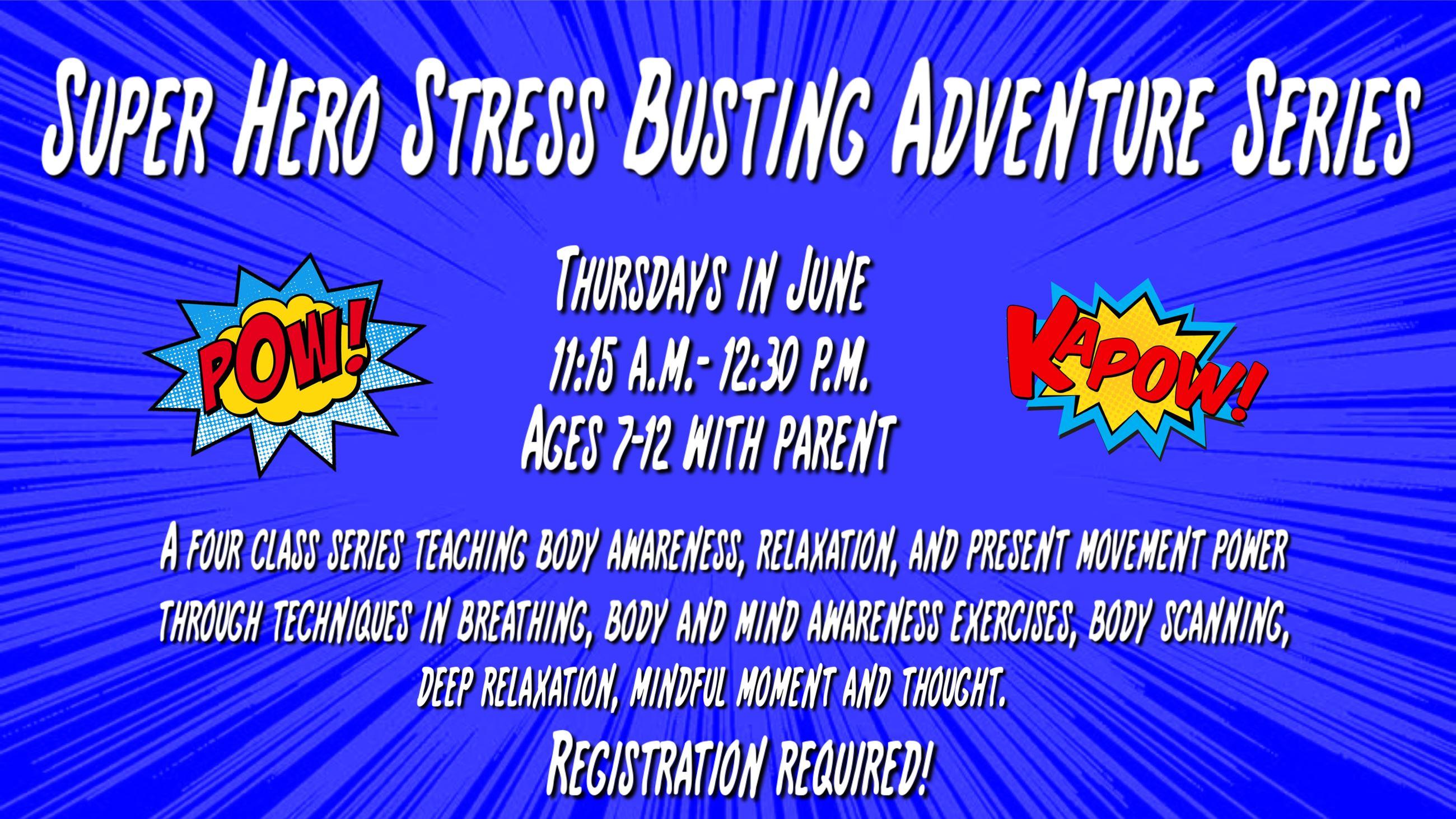 Super Hero Stress